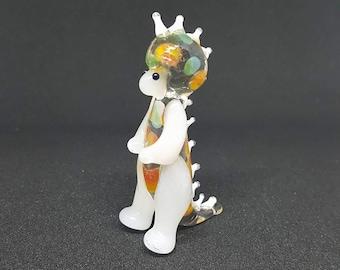 Dinosaur Glass Figurine