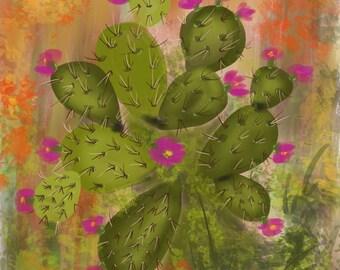 Pride Of A cactus
