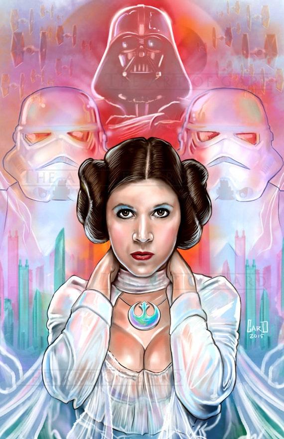 Princess Leia (artistic interpretation)