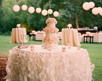 Wedding Special Event Table Coth/ Table Topper