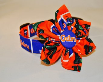 Gators Fabric Flower Accessory