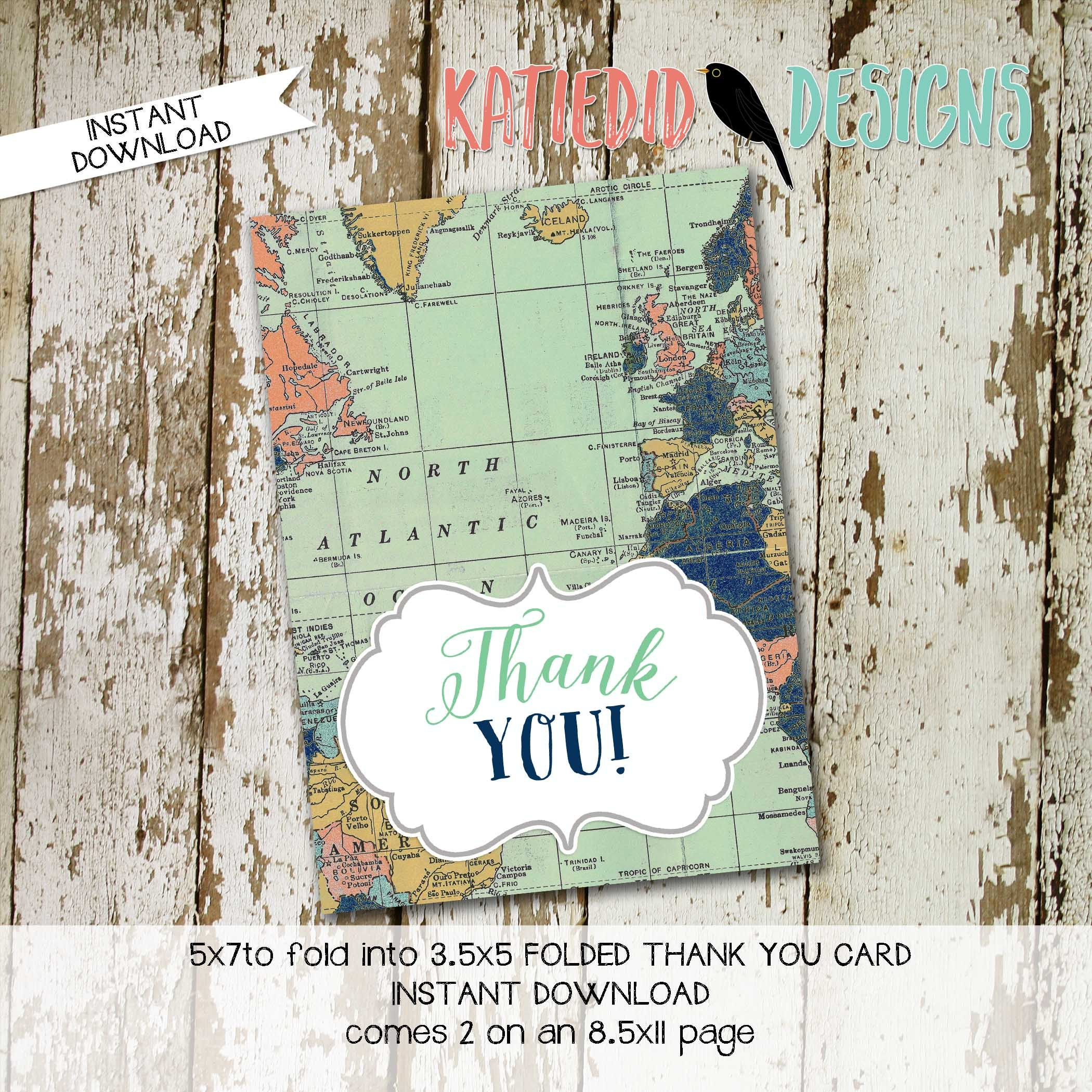 Travel Themed Invitation oh the places you\'ll go baby shower ...