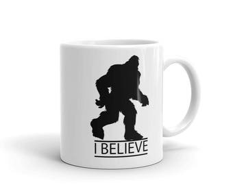 I Believe in Big Foot Mug - Myth & Magic series