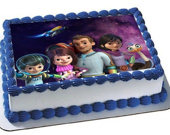 Miles From Tomorrowland Cake Topper, Miles Birthday cake Topper, Frosting Sheet, Miles Edible Image Cake Topper,Cupcake Topper