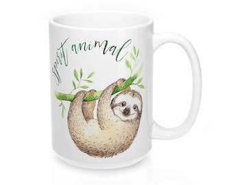 Sloth Mug, Sloth Coffee Mug, Sloth, Sloth Gift, Funny Coffee Mug, Coffee Mug, Funny Mug, Sloth Coffee Cup, Cute Sloth Mug, Sloths, Sloth Cup