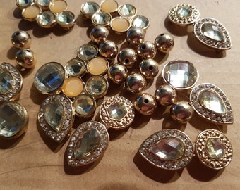 Acrylic Beads & Components for Jewellery making
