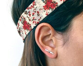 Silver Ear Jacket- Sterling Silver Ear Jacket,Silver earring pin,silver bar earrings,silver bar studs,sterling silver studs,bar pins,minimal