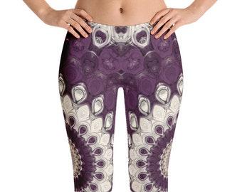 Womens Yoga Leggings, Mandala Yoga Pants, Printed Leggings Pants, Patterned Leggings Soft, Fashion Tights