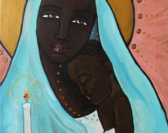 Our Lady of Hope 8x10 Print religious art