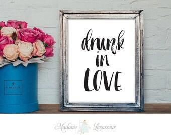 drunk in love printable quotes lyrics quotes printable art minimalist art prints inspirational quote instant download bedroom printable art