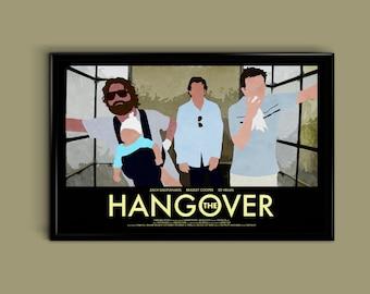 The Hangover 11 x 17 Minimalist Movie Poster