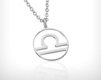 Libra necklace Libra zodiac Dainty Silver necklace libra zodiacnecklace zodiac constellation necklace , zodiac jewelry, libra zodiac sign