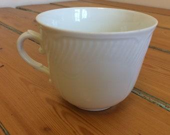 Vintage Richard Ginori white coffee cup