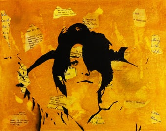 Sharon Van Etten Art Print by Rhian & Ray Ferrer