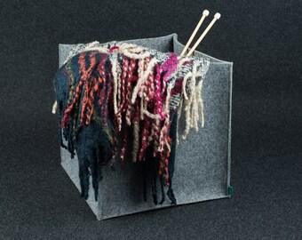 M/L box, dog toy basket, felt storage box, storage basket, household storage, Gopher