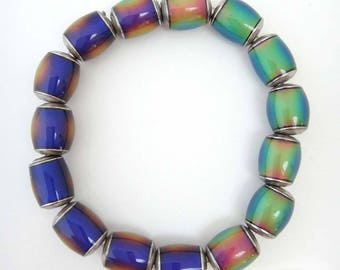 Mirage Bead Bracelet in Size Medium Large