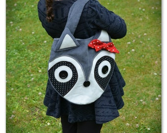 Children's Raccoon Handbag