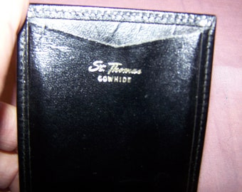 St. Thomas Cowhide Money and Card Holder