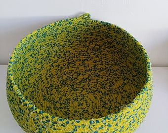 Extra Large Green and Turquoise ropebowl