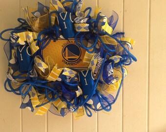 Golden state warriors wreath