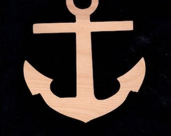 Anchor, Boat Decor, Anchor Wall Hanging, Anchor Cutout, Anchor Shape