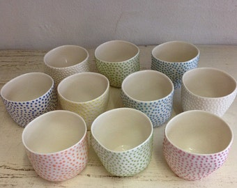 Small Dotted Guinomi Sake cup