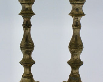 Vintage Brass Candlestick Holders Free Shipping