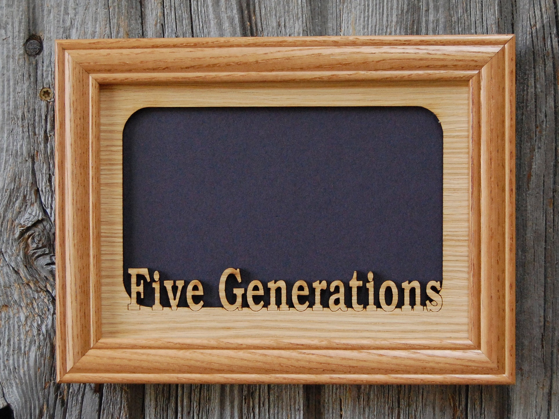 5x7 Generations Picture Frame, 3 Generations Frame, 4 Generations ...