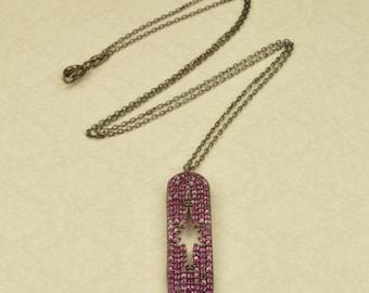Handmade silver 925 necklace star