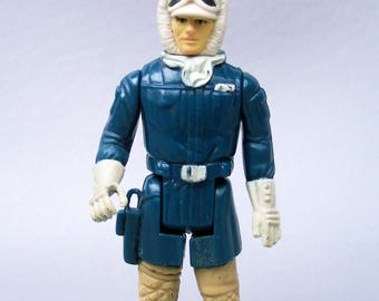 Vintage Star Wars Han Solo in Hoth Outfit Figure Complete C8 Hong Kong