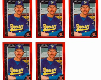 5 - 1992 Legends #49 Robin Yount Baseball Card Lot Milwaukee Brewers