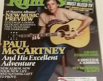 Rolling Stone Magazine Paul McCartney October 2005 Music Collectible Magazines