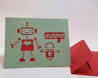 Mama  Robot card