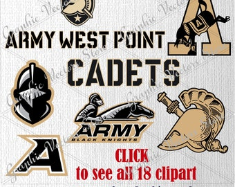 Army Black Knights svg, Files for Silhouette, Printable, Cricut, Files for Cutting Machine, Files for Decor, Print Files, Layered.