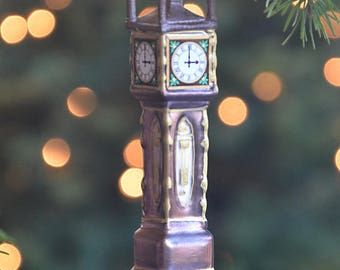 Gastown Steam Clock Christmas Ornament | Vancouver Christmas Ornament