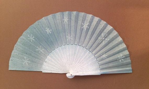 Winter Style Hand Fan