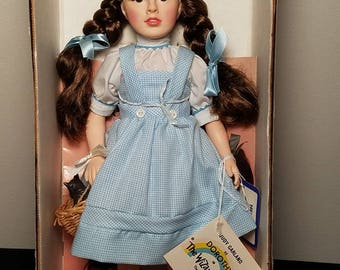 "VINTAGE 1984 Effanbee Judy Garland as ""Dorothy"" Doll - Collectible Wizard Of Oz"