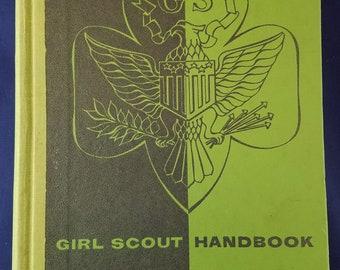 1954 Girl Scout Handbook Intermediate Program
