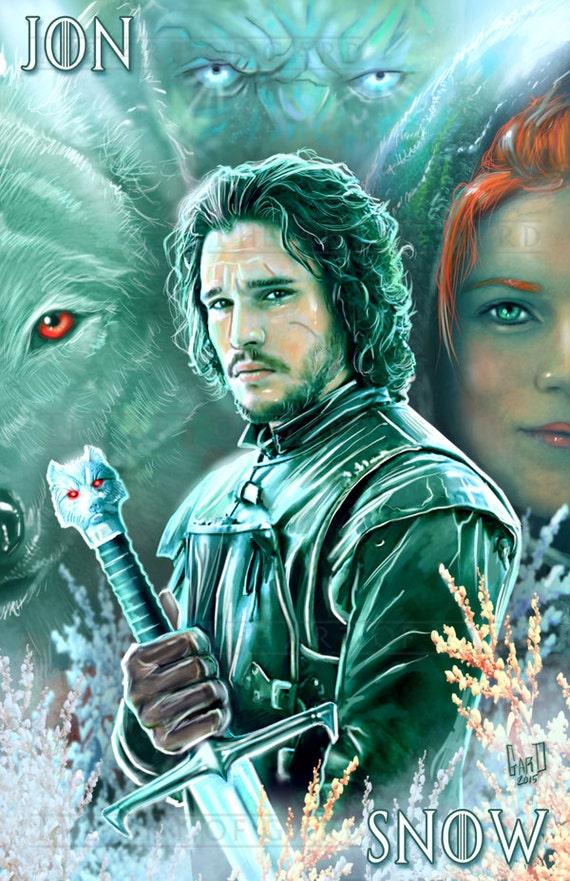 Jon Snow Artist's Print