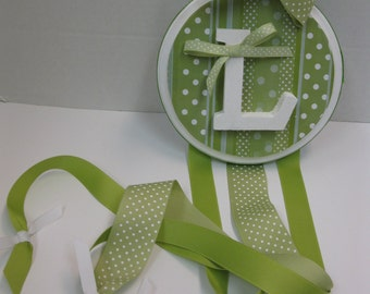 Ribbon Printed Bow Holder