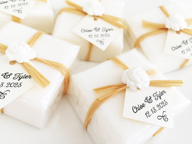 Wedding Soap Favors White Soap Favors Bridal Shower Favors
