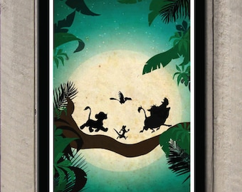 Disney movie poster - The Lion King
