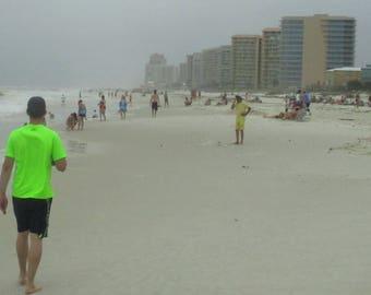 Son On The Beach