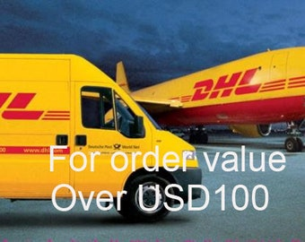 Customer survice -- DHL express courier - Pls leave your phone  number when check out !!!!!!    Many thanks !