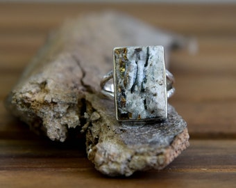 Astrophyllite Ring - Size: 7.5