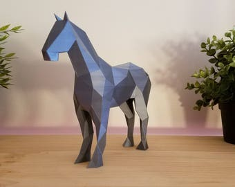 Low-Poly Horse