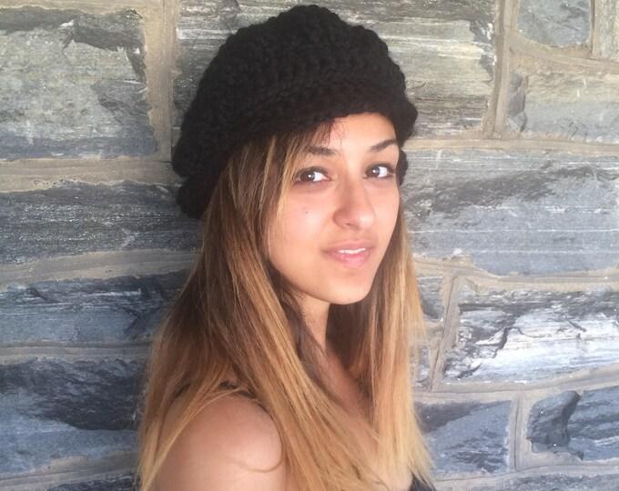 NEWSBOY CAP, newsboy cap women, womens hat, Fall/winter, hat, Chunky beanie, slouchy beanie,  chunky hat, slouchy hat, chunky slouchy beanie