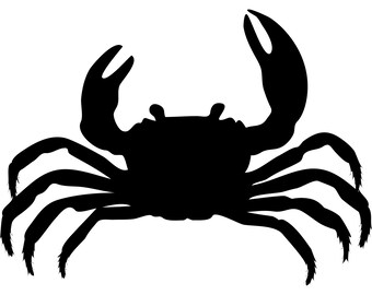 Retro Rustic Weathered Crab Cutout Nautical Decor