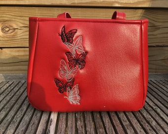 Red Butterfly Bag
