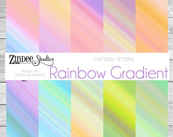 Patterned Vinyl, Rainbow Gradient Printed Vinyl, Adhesive Vinyl, Heat  Transfer Vinyl, Pattern